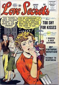 Cover Thumbnail for Love Secrets (Quality Comics, 1953 series) #49