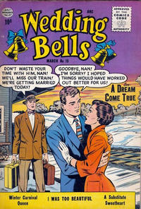 Cover Thumbnail for Wedding Bells (Quality Comics, 1954 series) #15