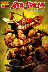 Cover Thumbnail for Red Sonja (Dynamite Entertainment, 2005 series) #2 [J.G. Jones Cover]
