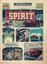 Cover Thumbnail for The Spirit (Register and Tribune Syndicate, 1940 series) #9/29/1946
