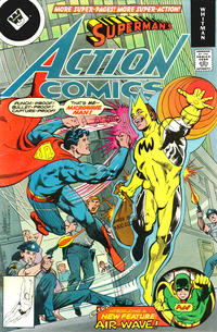 Cover Thumbnail for Action Comics (DC, 1938 series) #488 [Whitman]