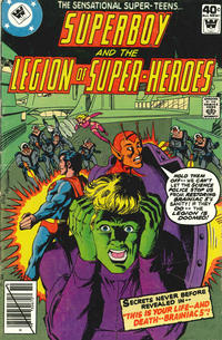 Cover Thumbnail for Superboy & the Legion of Super-Heroes (DC, 1977 series) #256 [Whitman cover]