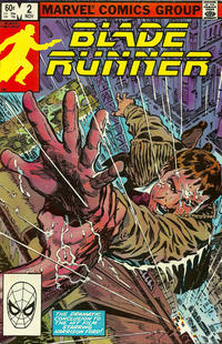 Cover Thumbnail for Blade Runner (Marvel, 1982 series) #2 [Direct Edition]