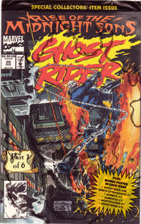 Cover Thumbnail for Ghost Rider (Marvel, 1990 series) #28 [Direct]