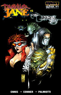 """Cover Thumbnail for Painkiller Jane vs. The Darkness: """"Stripper"""" (Event Comics, 1997 series) #1 [Silvestri Cover]"""