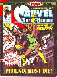 Cover Thumbnail for Marvel Superheroes [Marvel Super-Heroes] (Marvel UK, 1979 series) #393