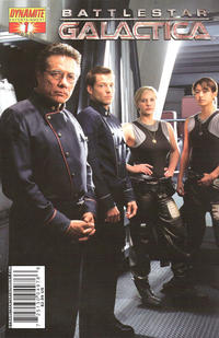 Cover for Battlestar Galactica (Dynamite Entertainment, 2006 series) #1 [Michael Turner Cover]