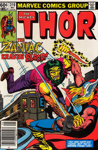 Cover Thumbnail for Thor (Marvel, 1966 series) #319 [Newsstand]