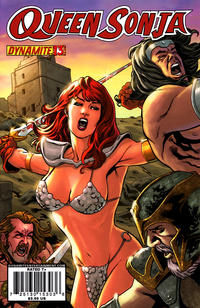 Cover Thumbnail for Queen Sonja (Dynamite Entertainment, 2009 series) #13 [Carlos Rafael Cover]