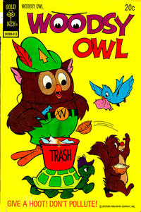 Cover Thumbnail for Woodsy Owl (Western, 1973 series) #1 [Gold Key Variant]