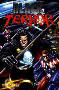 Cover Thumbnail for Black Terror (Dynamite Entertainment, 2008 series) #4 [Mike Lilly 1-in-12 Cover]