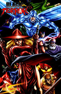 Cover Thumbnail for Black Terror (Dynamite Entertainment, 2008 series) #4 [Mike Lilly 1-in-15 Cover]
