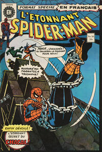 Cover Thumbnail for L'Étonnant Spider-Man (Editions Héritage, 1969 series) #50