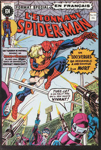 Cover Thumbnail for L'Étonnant Spider-Man (Editions Héritage, 1969 series) #55
