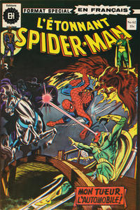 Cover Thumbnail for L'Étonnant Spider-Man (Editions Héritage, 1969 series) #62