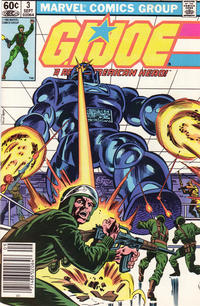 Cover Thumbnail for G.I. Joe, A Real American Hero (Marvel, 1982 series) #3 [Newsstand Edition]