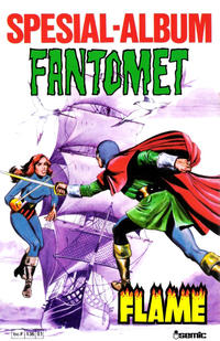 Cover Thumbnail for Fantomet Spesialalbum Flame (Semic, 1980 series)