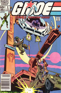 Cover Thumbnail for G.I. Joe, A Real American Hero (Marvel, 1982 series) #8 [Newsstand Edition]