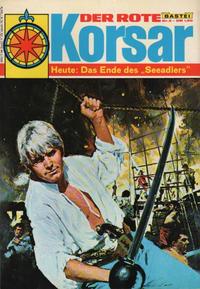 Cover Thumbnail for Der Rote Korsar (Bastei Verlag, 1970 series) #2 - Das Ende des Seeadlers