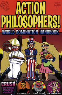 Cover Thumbnail for Action Philosophers (Evil Twin Comics, 2005 series) #1 (4) - World Domination Handbook