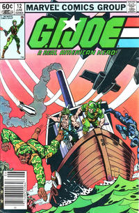 Cover Thumbnail for G.I. Joe, A Real American Hero (Marvel, 1982 series) #12 [Newsstand Edition]