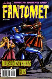 Cover Thumbnail for Fantomet (Hjemmet / Egmont, 1998 series) #7/2002