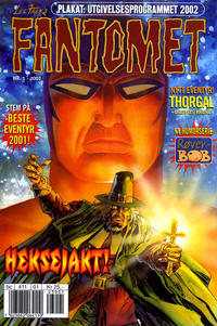 Cover Thumbnail for Fantomet (Hjemmet / Egmont, 1998 series) #1/2002