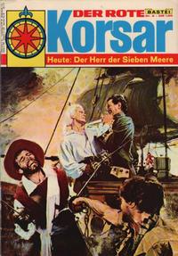 Cover Thumbnail for Der Rote Korsar (Bastei Verlag, 1970 series) #8