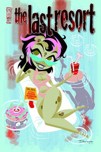 Cover for The Last Resort (IDW, 2009 series) #4