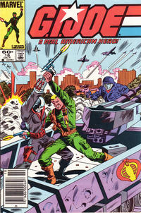 Cover Thumbnail for G.I. Joe, A Real American Hero (Marvel, 1982 series) #16 [Newsstand Edition]