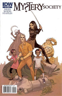 Cover Thumbnail for Mystery Society (IDW, 2010 series) #5