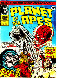 Cover Thumbnail for Planet of the Apes (Marvel UK, 1974 series) #45