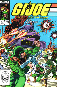 Cover Thumbnail for G.I. Joe, A Real American Hero (Marvel, 1982 series) #19 [Direct Edition]