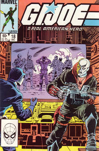 Cover Thumbnail for G.I. Joe, A Real American Hero (Marvel, 1982 series) #18 [Direct Edition]