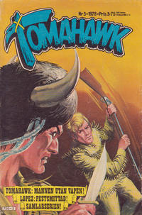 Cover Thumbnail for Tomahawk (Semic, 1976 series) #5/1978