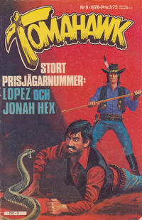 Cover Thumbnail for Tomahawk (Semic, 1976 series) #9/1978