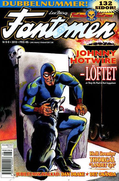 Cover for Fantomen (Egmont, 1997 series) #8-9/2010