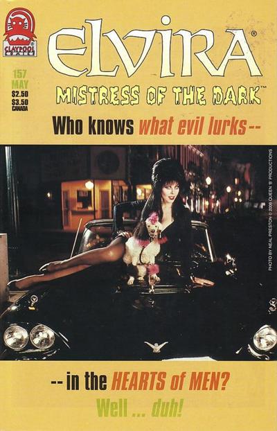 Cover for Elvira, Mistress of the Dark (Claypool Comics, 1993 series) #157