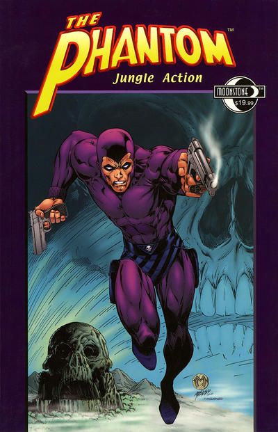 Cover for The Phantom: Jungle Action (Moonstone, 2008 series) #[nn]