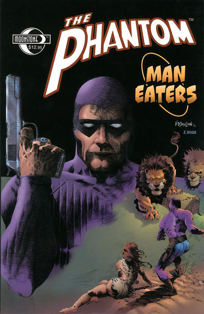 Cover for The Phantom: Man Eaters (Moonstone, 2006 series)