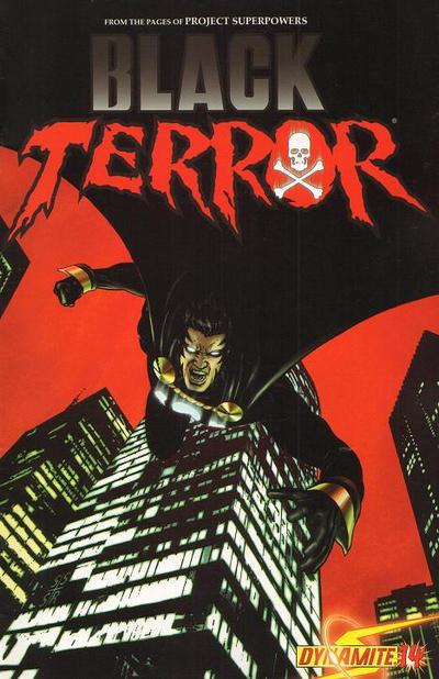 Cover for Black Terror (Dynamite Entertainment, 2008 series) #14 [Cover B - Stephen Sadowski]
