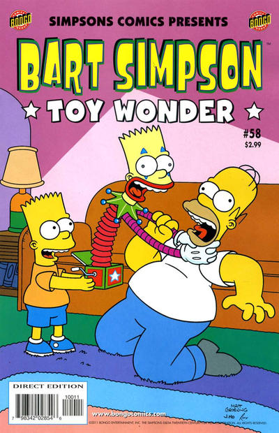 Cover for Simpsons Comics Presents Bart Simpson (Bongo, 2000 series) #58