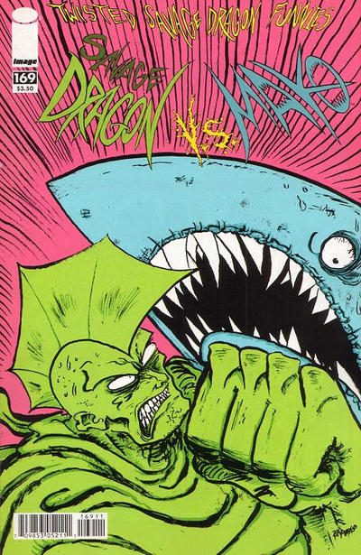 Cover for Savage Dragon (Image, 1993 series) #169