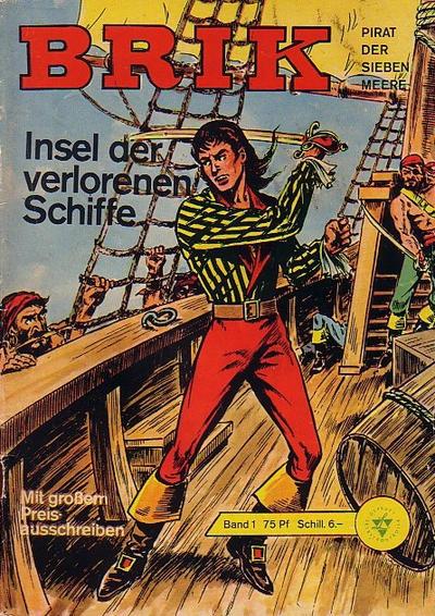 Cover for Brik (Lehning, 1962 series) #1