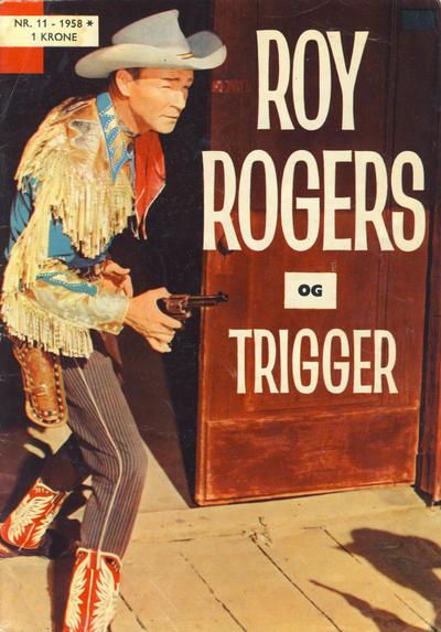 Cover for Roy Rogers (Serieforlaget / Se-Bladene / Stabenfeldt, 1954 series) #11/1958