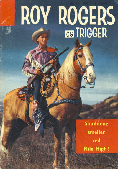 Cover for Roy Rogers (Serieforlaget / Se-Bladene / Stabenfeldt, 1954 series) #13/1958