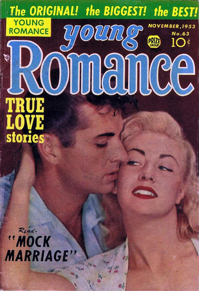 Cover for Young Romance (Prize, 1947 series) #v7#3 (63)
