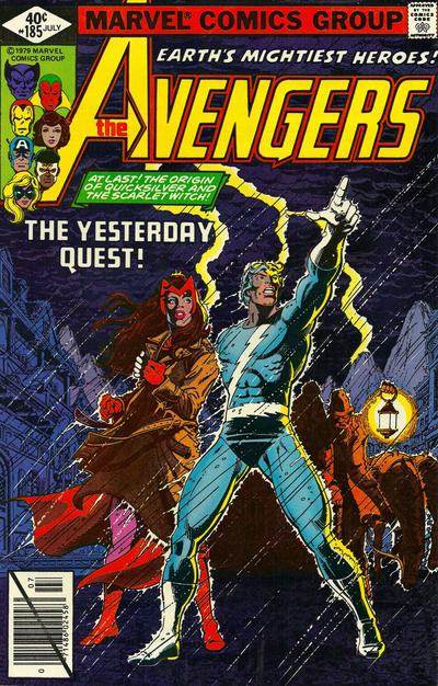 Cover for The Avengers (Marvel, 1963 series) #185 [Newsstand Edition]
