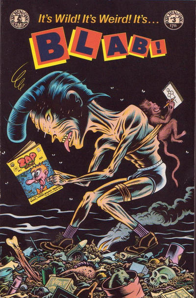 Cover for Blab! (Kitchen Sink Press, 1988 series) #3