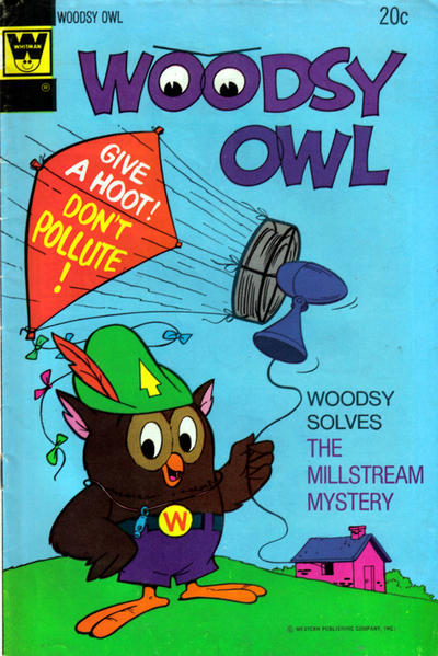 Cover for Woodsy Owl (Western, 1973 series) #3 [Gold Key Variant]
